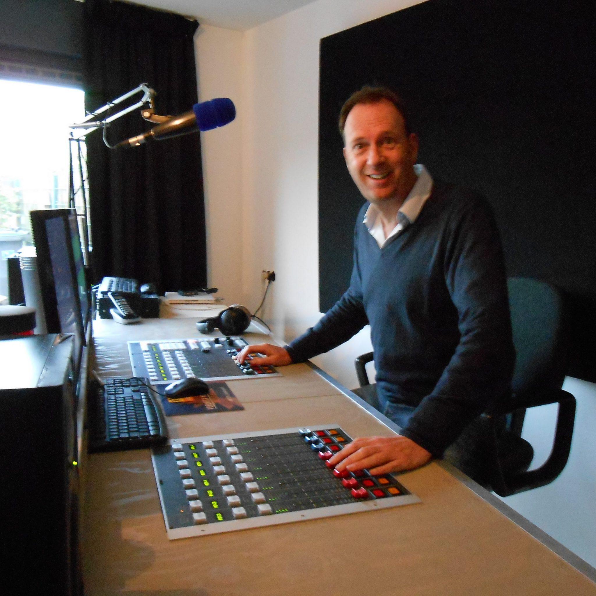 Jochem van Gelder in de studio van Dick Klabbers DKstudio Wijchen
